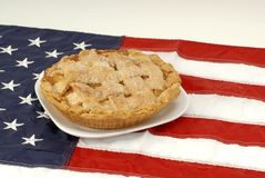 American as apple pie Stock Image