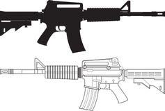 American Assault Gun Royalty Free Stock Image