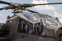 American attack helicopter longbow apache Royalty Free Stock Photo
