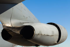 American B-52 bomber jet engines Royalty Free Stock Photo