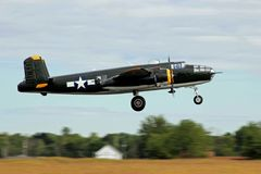 B-25 Mitchell Bomber royalty free stock photo