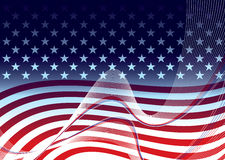 American background concept royalty free illustration