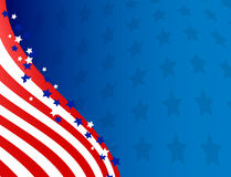 American background Stock Image