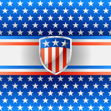 American background Royalty Free Stock Photography
