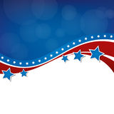American Background. An American themed background design. Ideal for campaign or 4th of July themed designs Stock Photo