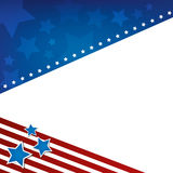 American Background Royalty Free Stock Image