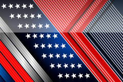 American backgrounds design template Stock Images