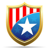 American badge Royalty Free Stock Photo