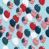 American balloons Stock Photography