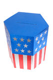 American ballot box Royalty Free Stock Image