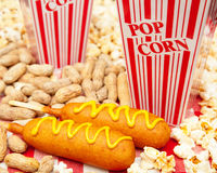 American Ballpark Junk Food Royalty Free Stock Image