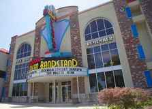 American Bandstand teatr, Branson Missouri obraz stock