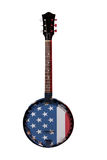 American Banjo Royalty Free Stock Photography