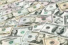 American banknotes Stock Photography
