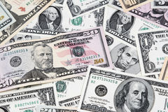 American banknotes Royalty Free Stock Photo