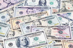 American banknotes Stock Photo