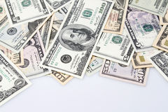 American banknotes Royalty Free Stock Images
