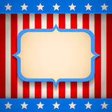 American banner Stock Photo