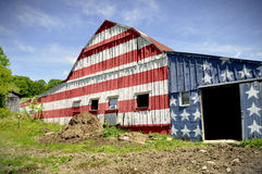 American Barn Stock Photo