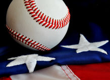 American Baseball. Celebrating America's National Pastime Royalty Free Stock Photos
