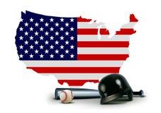 American Baseball Royalty Free Stock Image
