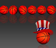 American basketball. Stock Images