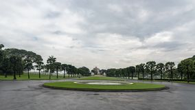 The American Battle Monuments Commission. Manila American Cemetery and Memorial. Landscape royalty free stock images