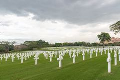 The American Battle Monuments Commission. Manila American Cemetery and Memorial. Landscape stock images