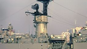 American battleship Hong Kong