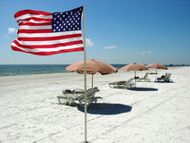 American Beach stock photography
