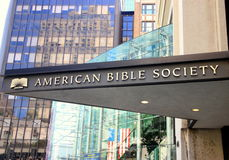 American Bible Society Stock Photo