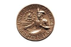 American bicentennial Quarter stock photography