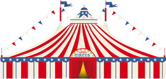 American big top circus Royalty Free Stock Image