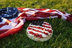 American birthday. royalty free stock images