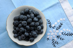 American blueberries Royalty Free Stock Image
