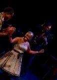 American blues singer Zakiya Royalty Free Stock Photos