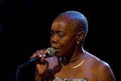 American blues singer Zakiya Stock Photos