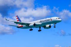 american boeing för 757 flygbolag Royaltyfri Bild