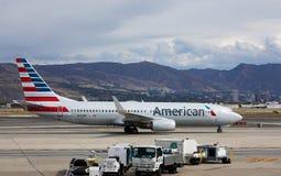 american boeing för 737 flygbolag Arkivbild