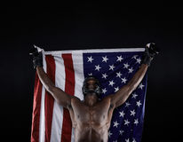 American boxing champion Stock Image