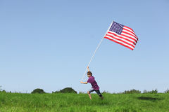 American boy Royalty Free Stock Photo