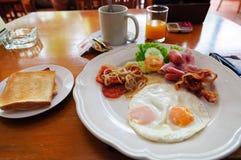 American breakfast Royalty Free Stock Photos
