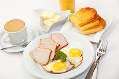 American breakfast royalty free stock image