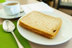 American breakfast stock image
