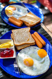 American Breakfast Stock Photo