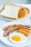 American breakfast Royalty Free Stock Photos