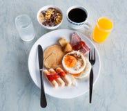 American breakfast style Stock Image