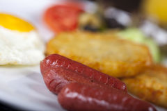 American Breakfast Stock Photos