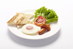American breakfast Stock Images