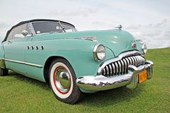 American buick vintage car Royalty Free Stock Photography